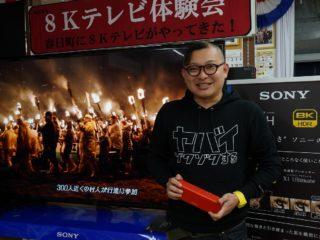ソニー8Kテレビ体験会「ヤバイゾクゾクする」