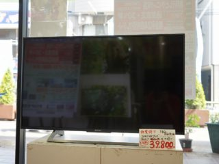 【販売終了しました】ソニーKJ-43X8000E+4KチューナーDST-SHV1付!