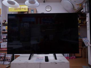 掘り出し品!!55型4Kテレビ
