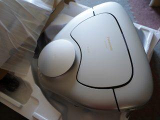 次世代お掃除ロボットパナソニックMC-RSF700-Nを納品してきました