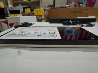 お買い得品!SONY ブルーレイディスクレコーダー! BDZ-ZW550
